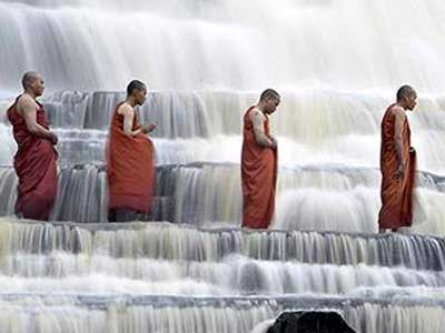 The Monks at the River